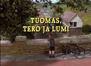 Thomas,TerenceandtheSnowFinnishTitleCard