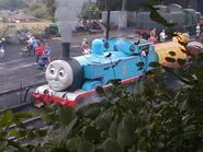 Thomas in Ropley (Note the Chinese Dragon)
