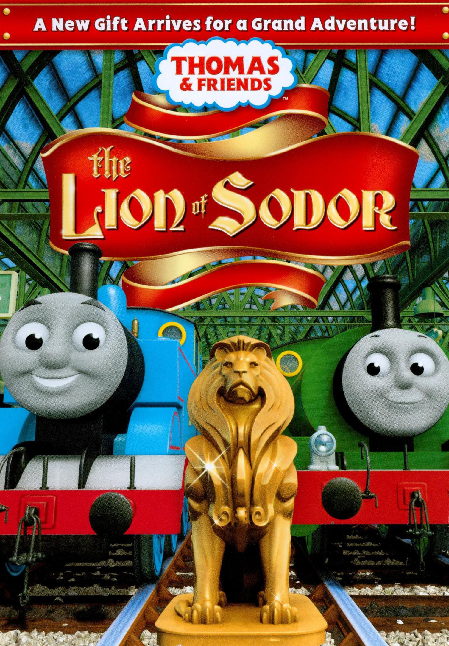 the lion of sodor dvd thomas the tank engine wikia fandom
