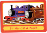 ThomasTradingCardsSirHandel&Duke