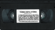 Thomas'UsefulStoriesVHSstickerlabeltape