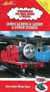 JamesLearnsaLessonandOtherStoriesSecond1990VHScover