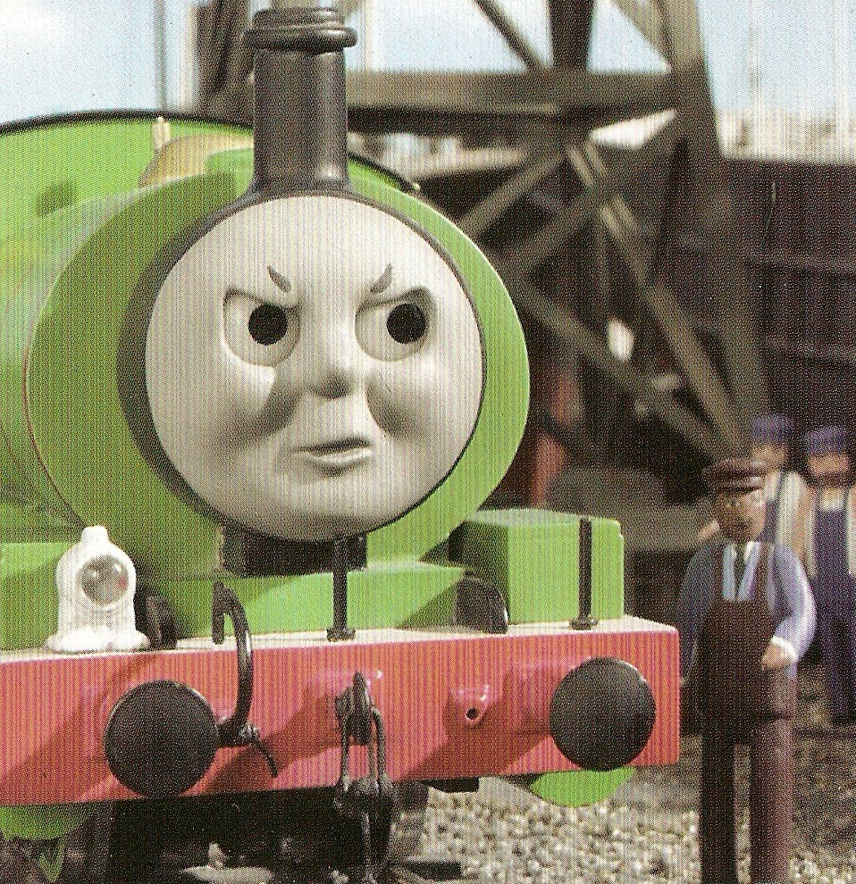 Percy Angry Face