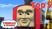 Thomas & Friends™ Non-railway Vehicles! Thomas Top 5 Best of Thomas Highlights Kids Cartoon
