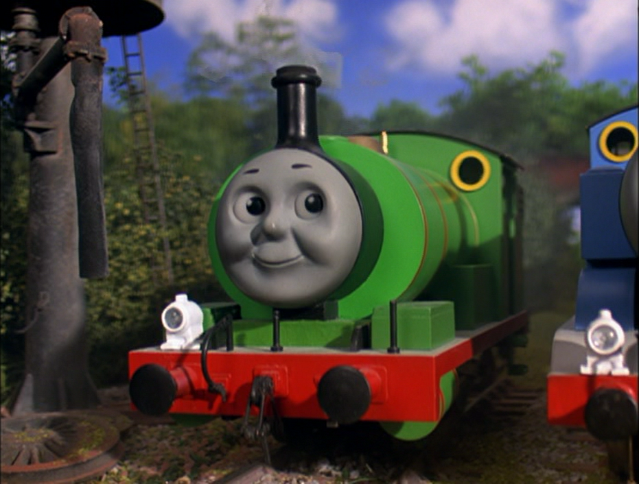 Thomas The Tank Engine Percy Faces