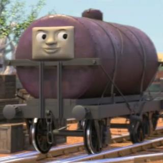 顔つきタンク車