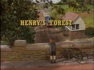 Henry'sForest1991titlecard