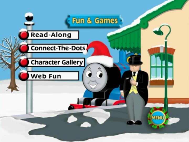 Image - Thomas'ChristmasWonderlandDVDmenu5.jpg | Thomas the Tank ...