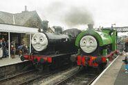 Embsay & Bolton Abbey Steam Railway Jinty