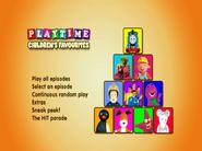 PlaytimeChildren'sFavouritesDVDmenu