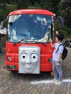 MitsuhiroSakamakiwithOigawaRailway'sBertie