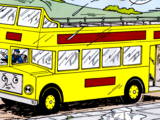 The Open Top Double-Decker Bus