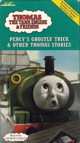 Percy S Ghostly Trick Dvd Thomas The Tank Engine Wikia