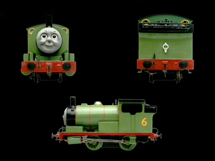 PercyBehind the Scenes Thomas
