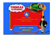 TroubleOnTheTracksCertificateJuniorLampShelver