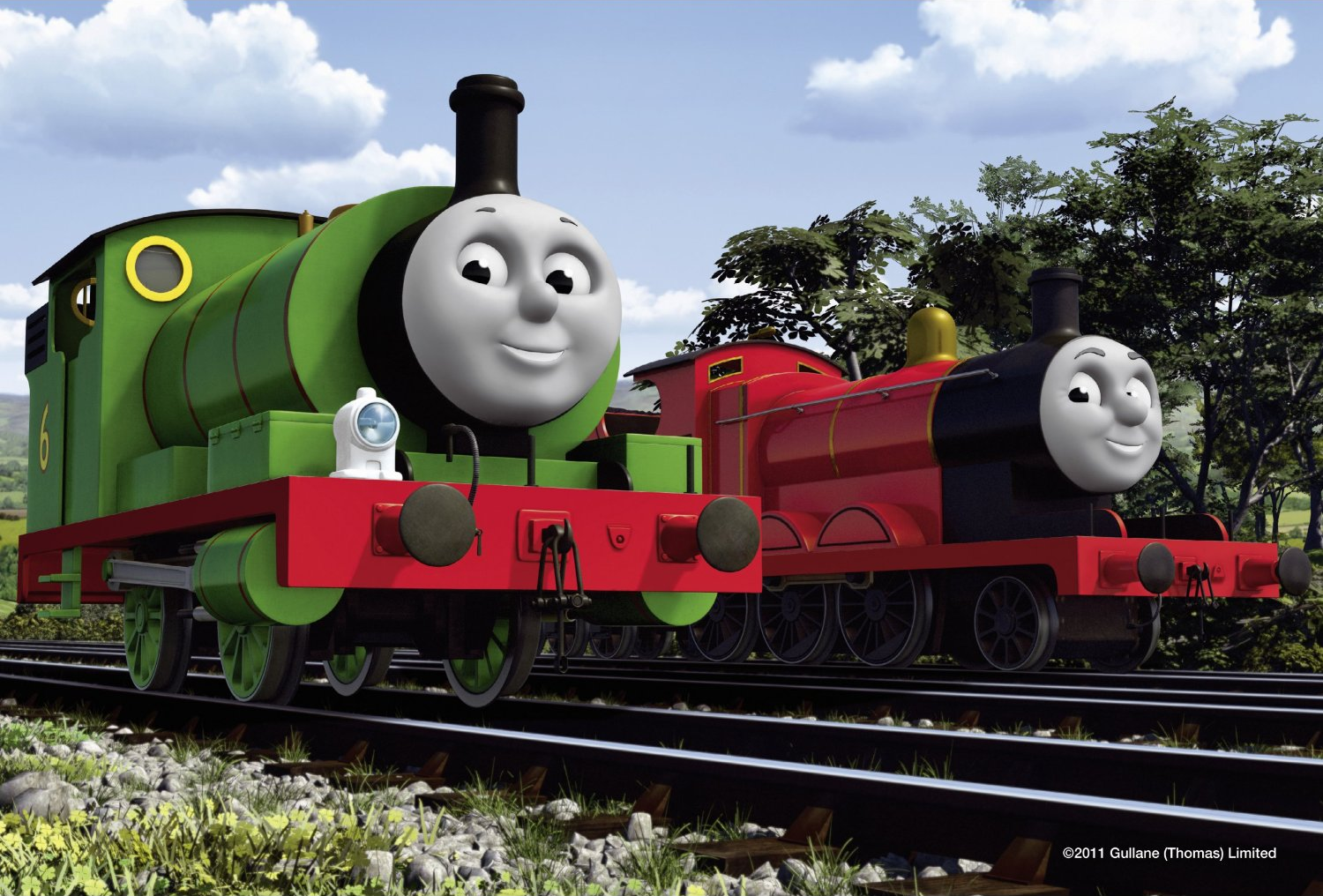 Uncategorized James Thomas And Friends image percyandjamescgipromo png thomas the tank engine wikia png