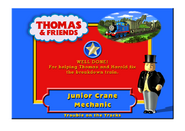 TroubleOnTheTracksCertificateJuniorCraneMechanic