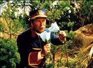 Mr.ConductorusingaBellflower