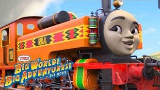Wake Up 🎵Music Video Big World! Big Adventures! The Movie Thomas & Friends Sing Along