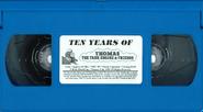 TenYearsofThomastheTankEngineandFriends1999BlueVHStape