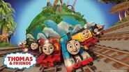 Big World! Big Adventures! Theme Song Official Lyrics Video Thomas & Friends