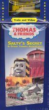 Salty'sSecretandotherThomasAdventuresVHSwithFreeWoodenRailwayDuncan