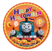 ThomasLand(Japan)15yearsHalloweenlogo