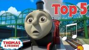 Thomas & Friends UK™ Top 5 Songs! Best of Thomas Highlights Thomas Top 5 Kids Cartoon