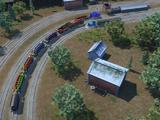 Chinese Railway Shunting Yard