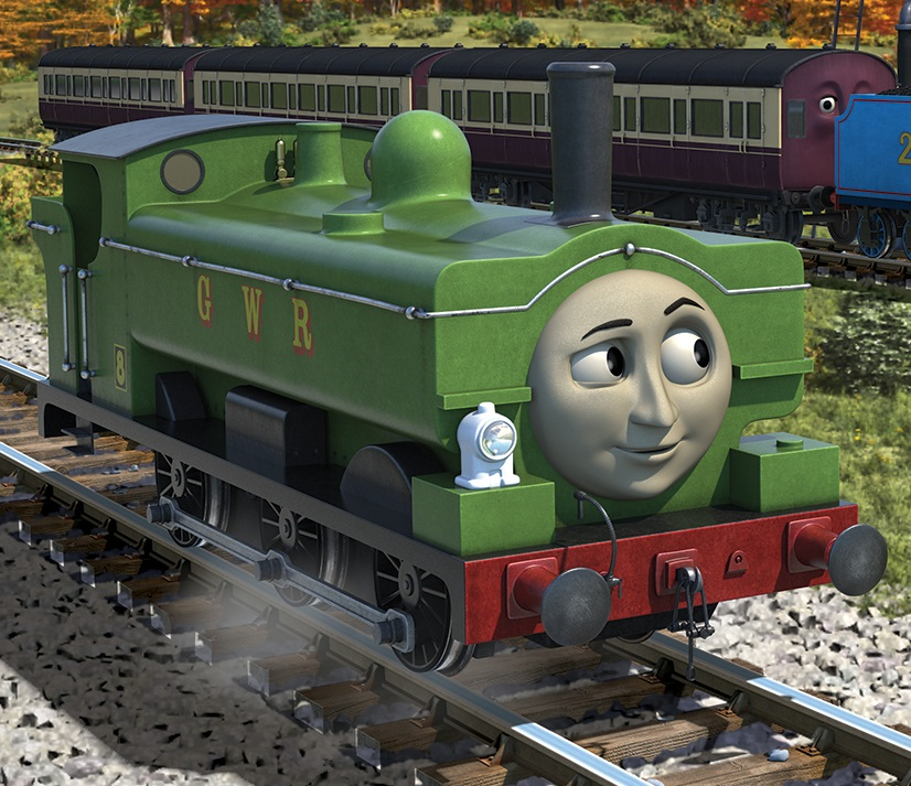 Duck Thomas The Tank Engine Wikia Fandom Powered By Wikia