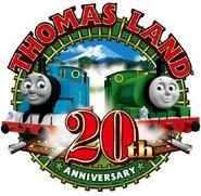 ThomasLand(Japan)20yearslogo
