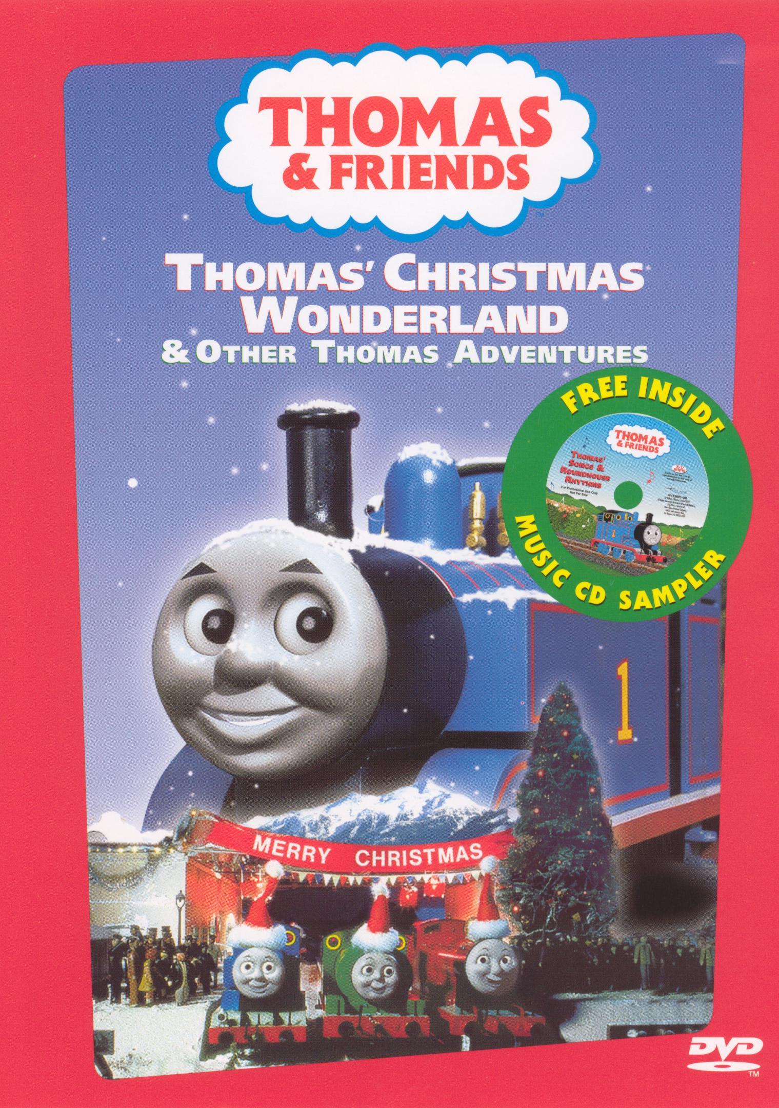 Thomas Christmas Wonderland Vhs.Thomas Christmas Wonderland And Other Thomas Adventures