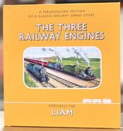 ThreeRailwayEnginesPersonalisedEdition