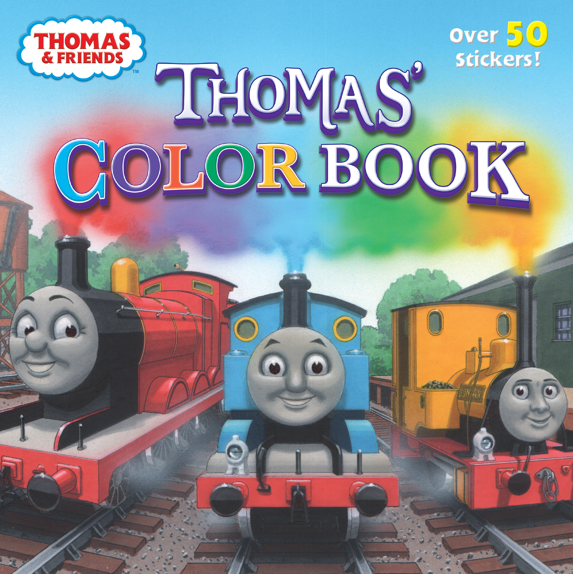 - Thomas' Color Book Thomas The Tank Engine Wikia Fandom