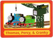 ThomasTradingCardsThomas,Percy&Cranky