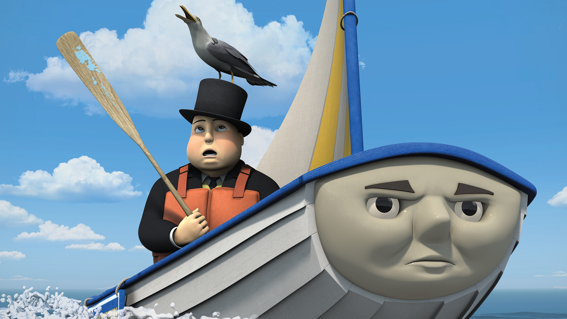 Thomas And Friends Skiff The Railboat