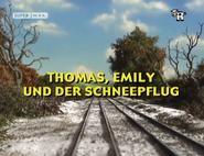 Thomas,EmilyandtheSnowploughGermantitlecard