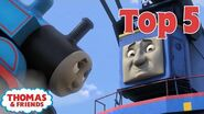 Thomas & Friends UK™ Top 5 Cranes! Best of Thomas Highlights Thomas Top 5 Kids Cartoon