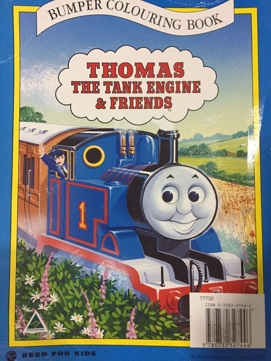 Bumper Colouring Book Thomas The Tank Engine Wikia