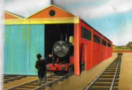 JamestheRedEngineandtheTroublesomeTrucks1