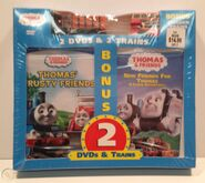 Thomas'TrustyFriendsandNewFriendsforThomasDVDwithWoodenElizabethandBulgy