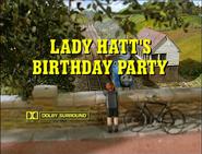 LadyHatt'sBirthdayPartytitlecard