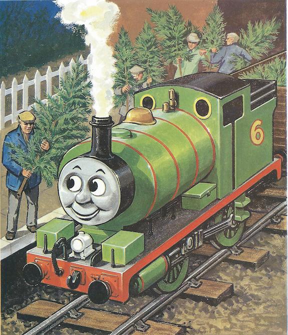 Thomas The Train Christmas Tree.Percy And The Christmas Tree Thomas The Tank Engine Wikia