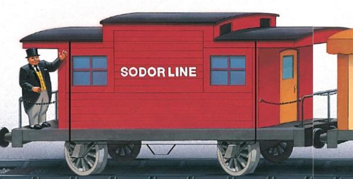 Sodor Line Cabooses | Thomas the Tank Engine Wikia | FANDOM