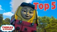 Thomas & Friends UK™ Top 5 Coolest Engines! Best of Thomas Highlights Kids Cartoon