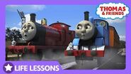 Thomas & James Get in a Silly Argument Life Lesson Responsibility Thomas & Friends UK