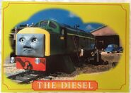 TheDiesel(Class40)Postcard