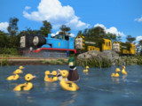 Diesel and the Ducklings (magazine story)