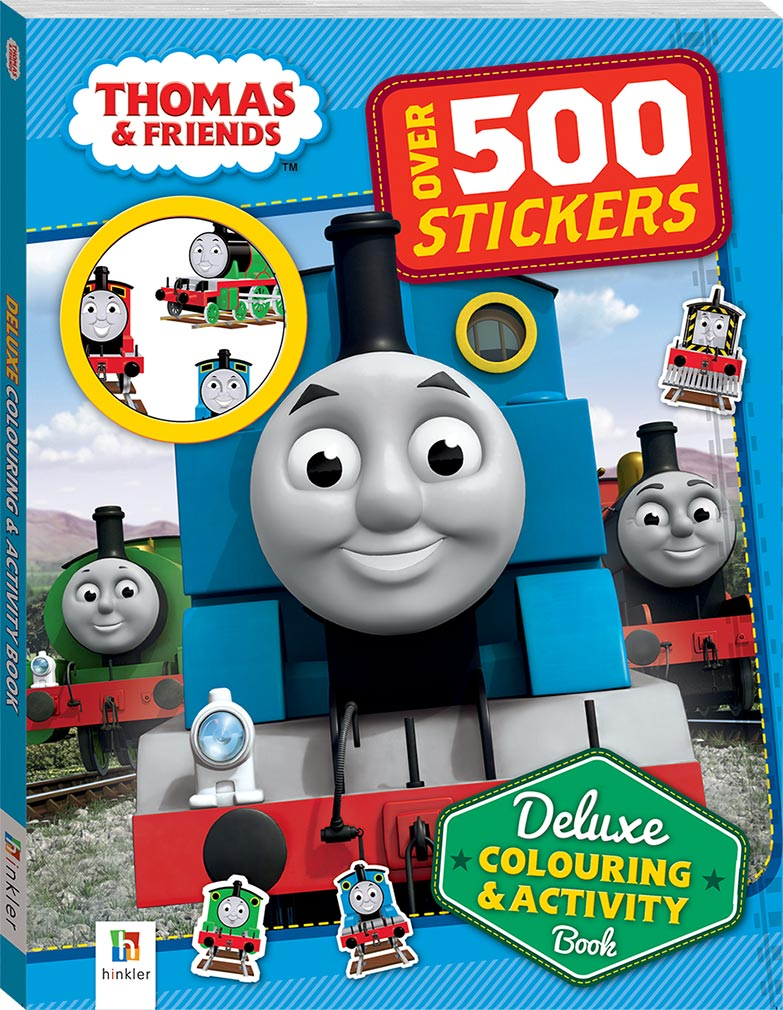 - Deluxe Coloring & Activity Book Thomas The Tank Engine Wikia