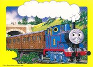 THOMAS THE TANK ENGINE&FRIENDS JAPANESE VHS VOL.3 SPECIALPOSTCARD